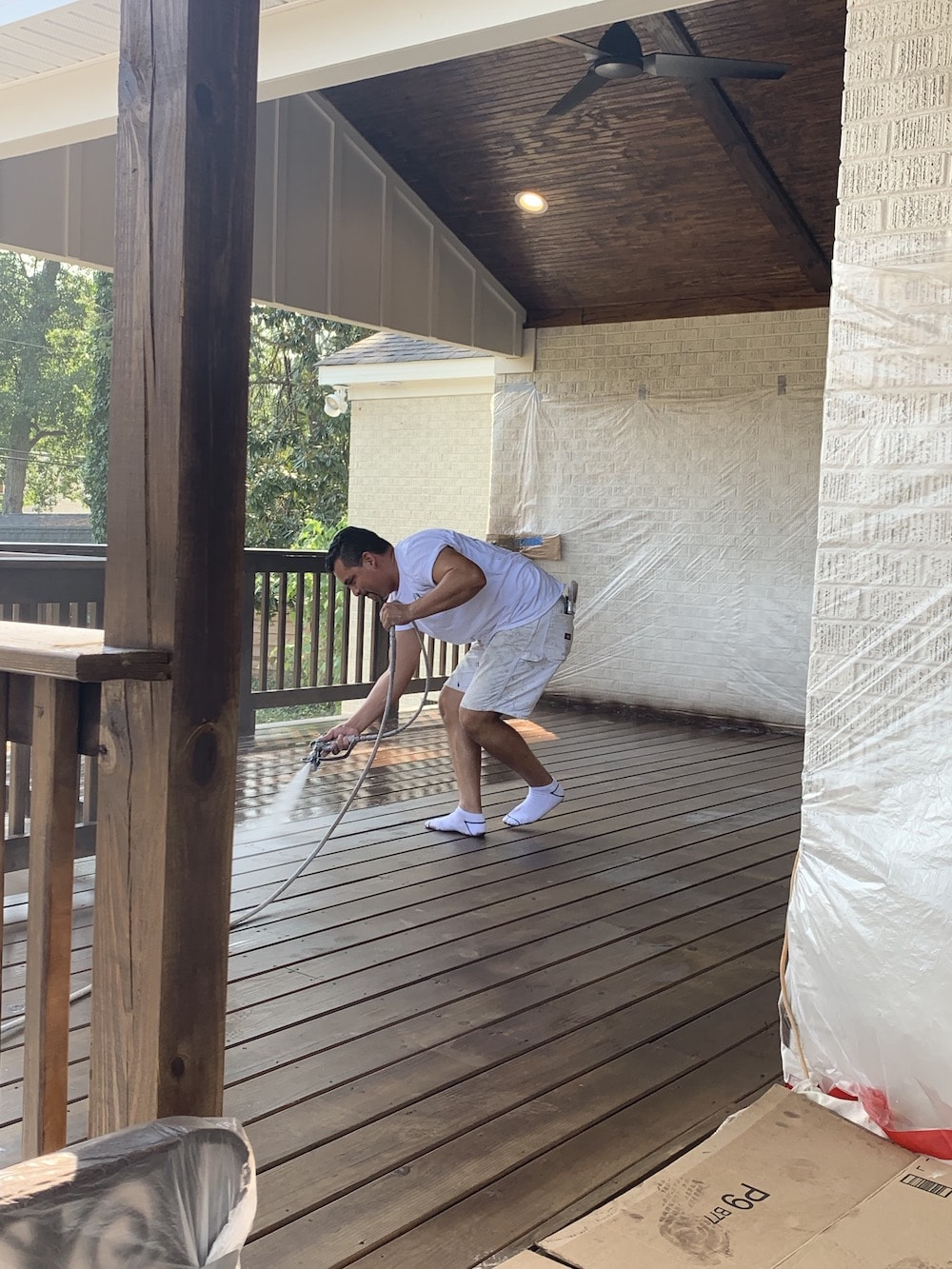 Deck Staining Columbia SC